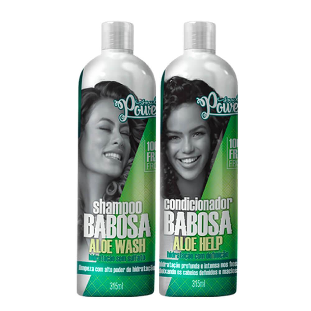 Kit Soul Power Aloe Babosa - Shampoo e Condicionador