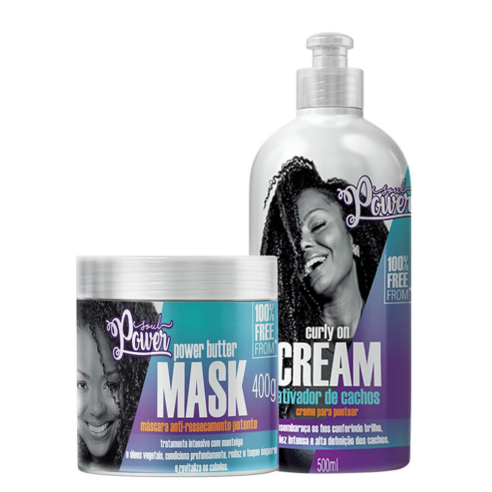 Kit Soul Power Curly On Cream - Crespos