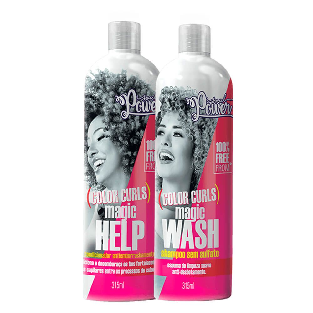 Kit Soul Power Color Curls - Shampoo e Condicionador