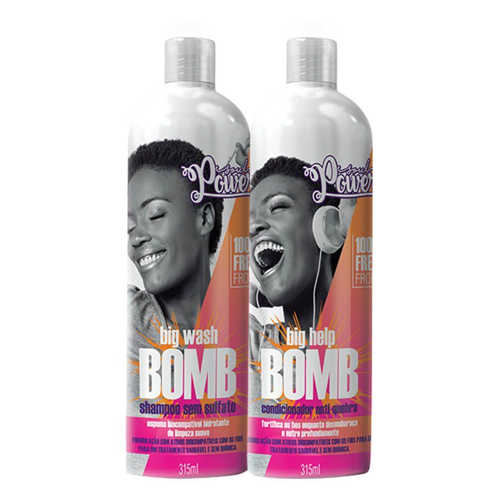 Kit Soul Power Big Bomb - Shampoo e Condicionador