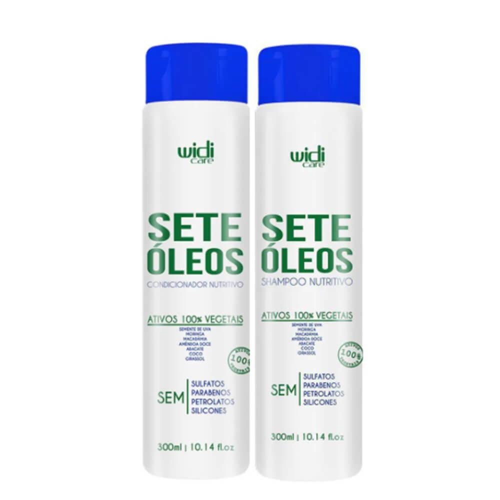 Kit Widi Care Sete Óleos - Shampoo e Condicionador