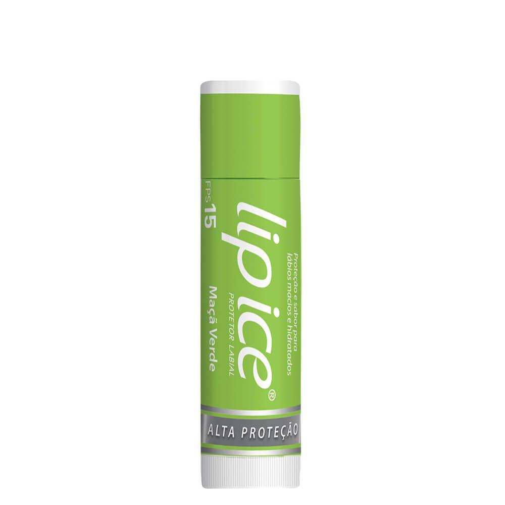 Lip Ice Protetor Labial FPS - Maçã Verde
