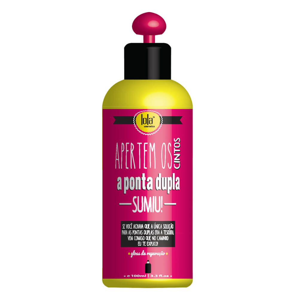 Lola Cosmetics Apertem Os Cintos a Ponta Dupla Sumiu - 120ml