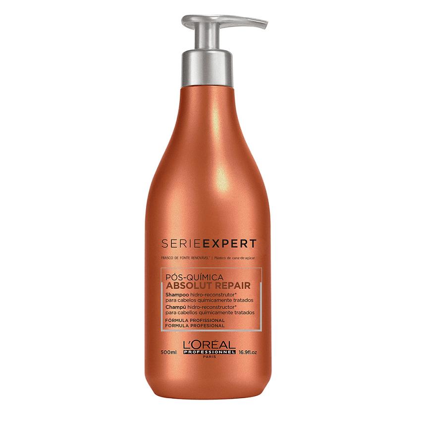 L'oreal Profissional Shampoo Absolut Repair Pós Química - 500ml