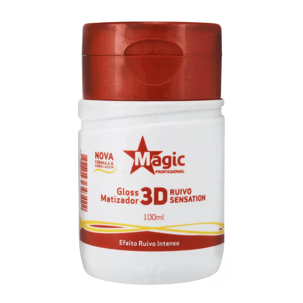 Magic Color Tonalizante Gloss Matizador 3D Ruivo Sensation - 100ml