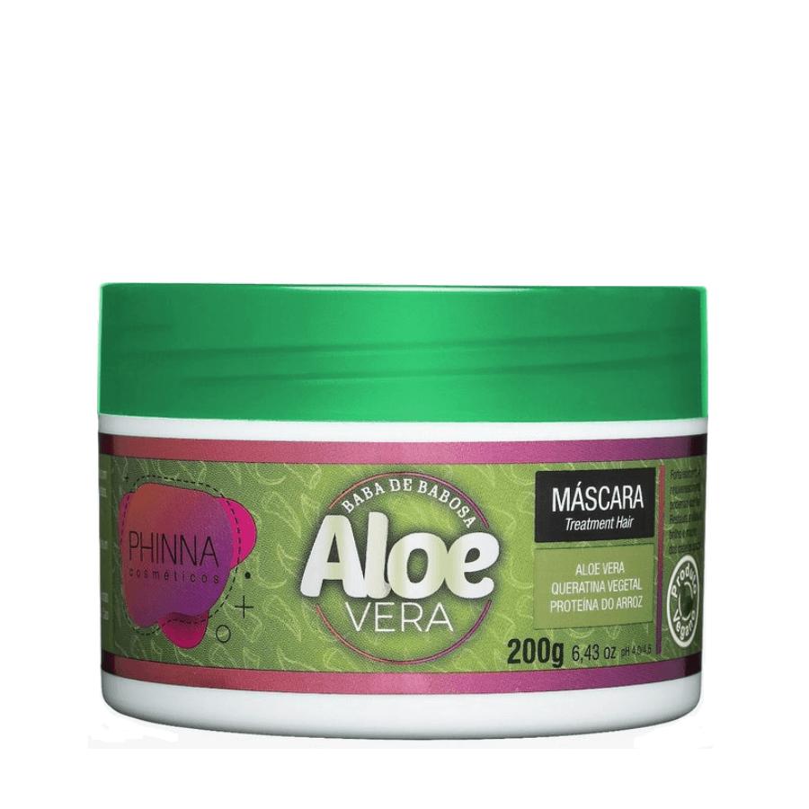 Phinna Máscara Baba de Babosa Aloe Vera Super Teia - 200g