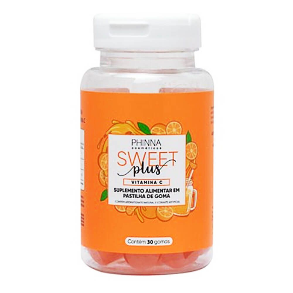 Phinna Sweet Plus Vitamina C Suplemento Alimentar - 30 Dias