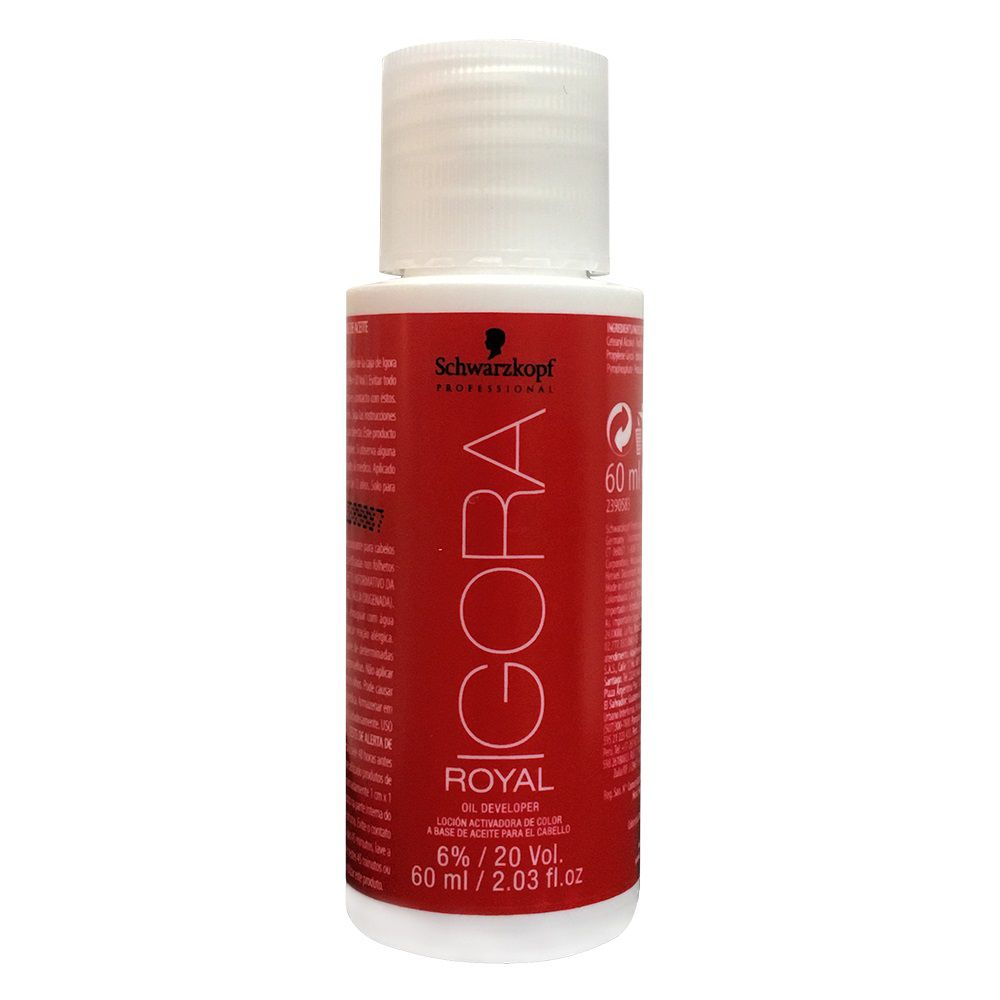 Schwarzkopf Água Oxigenada Igora Royal 20Vol / 6% - 60ml
