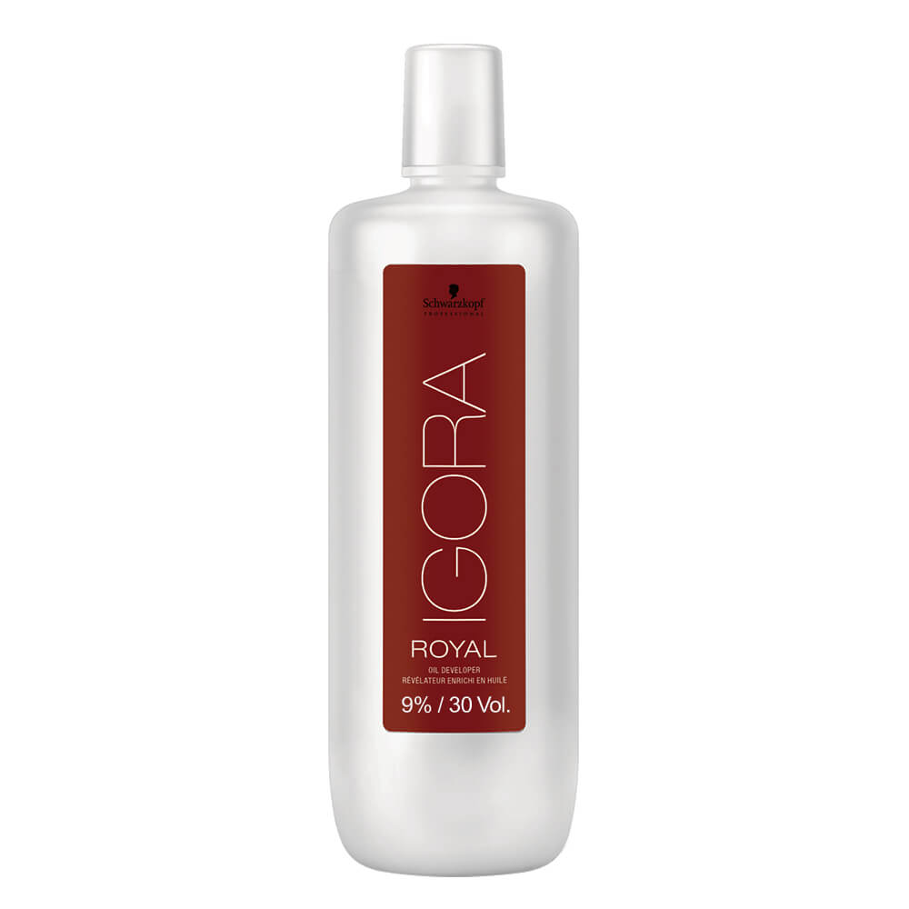 Schwarzkopf Água Oxigenada Igora Royal 30Vol / 9% - 1000ml