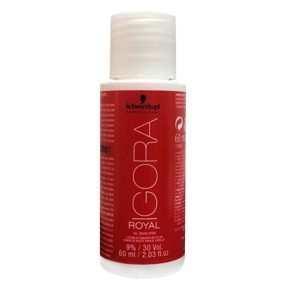 Schwarzkopf Água Oxigenada Igora Royal 30Vol / 9% - 60ml