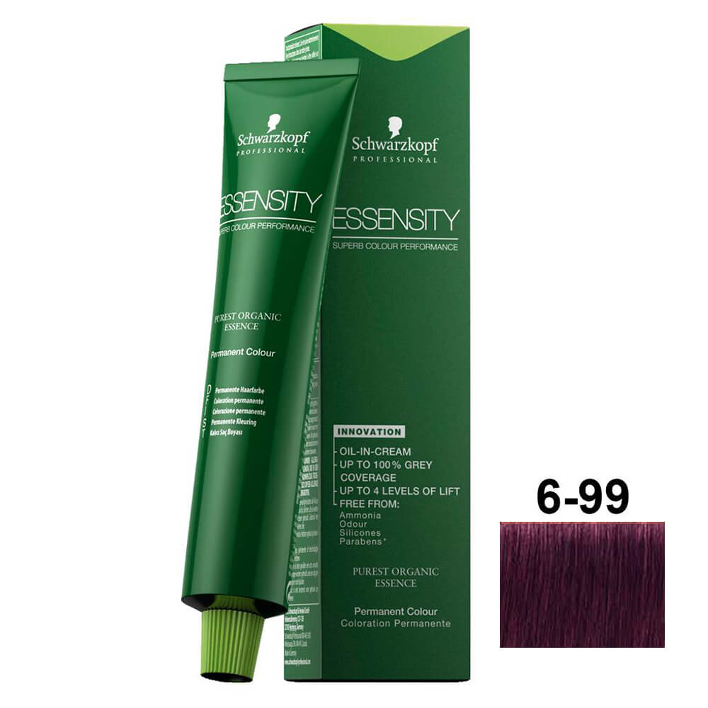 Schwarzkopf Essensity 6-99 Louro Escuro Violeta Extra - 60ml