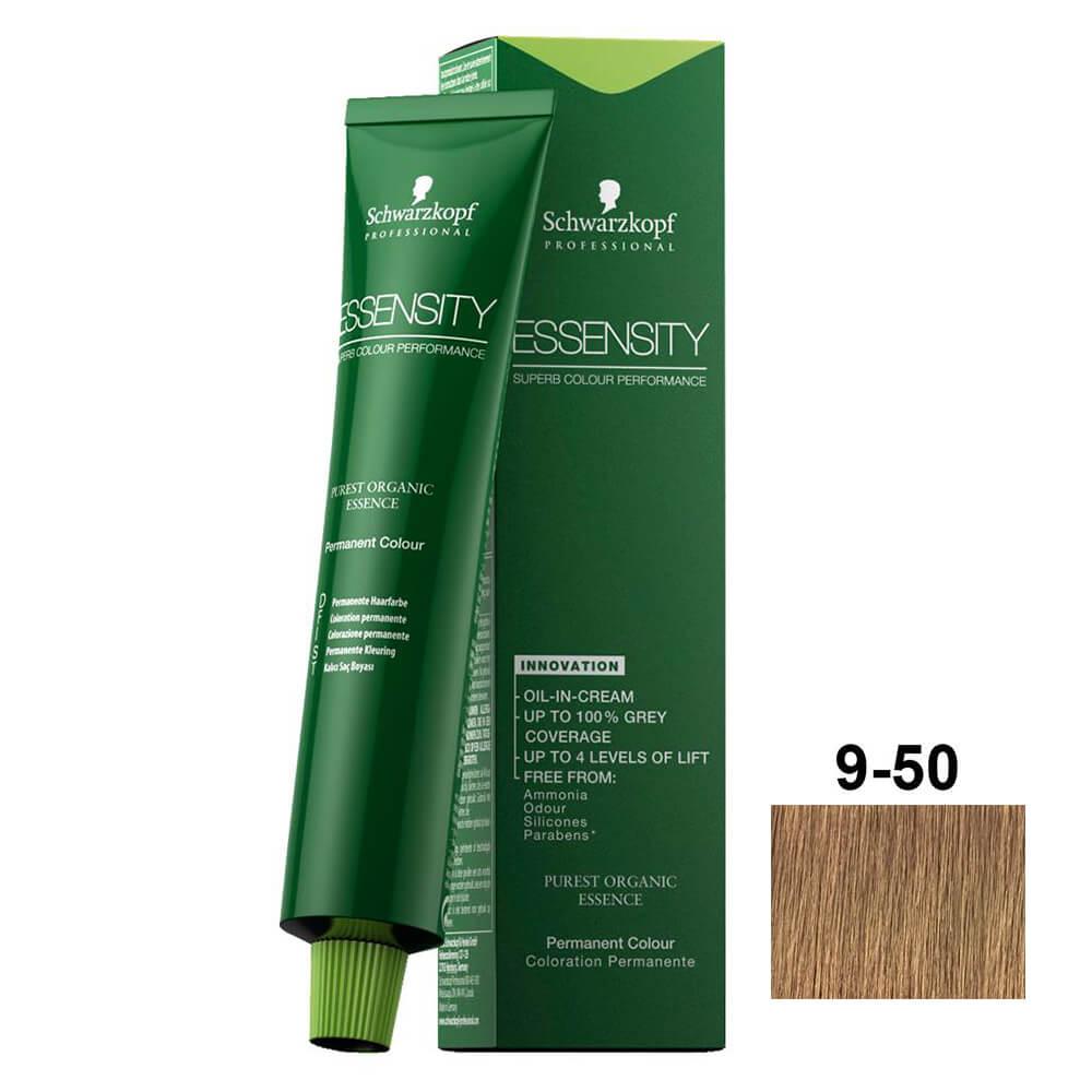Schwarzkopf Essensity 9-50 Louro Extra Claro Dourado Natural - 60ml