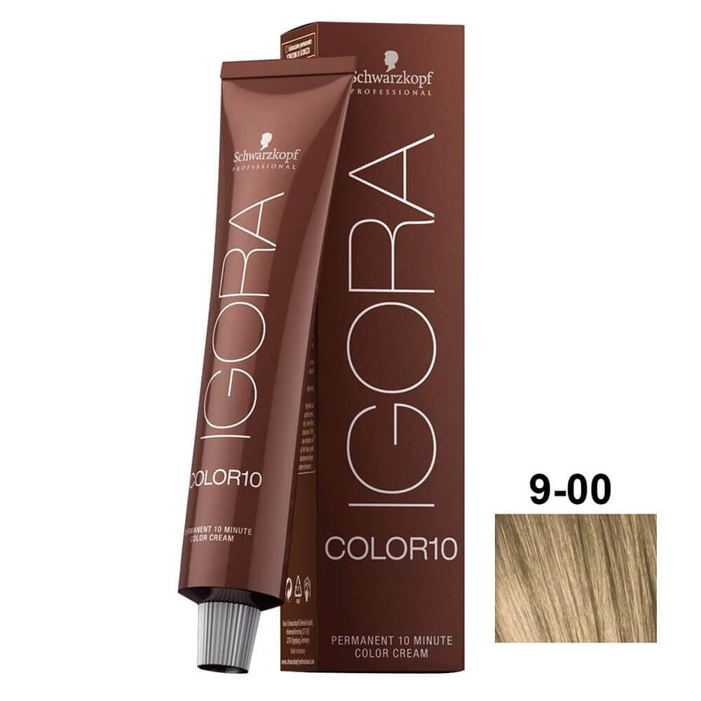 Schwarzkopf Igora Color10 9-00 Louro Extra Claro Natural Extra - 60ml