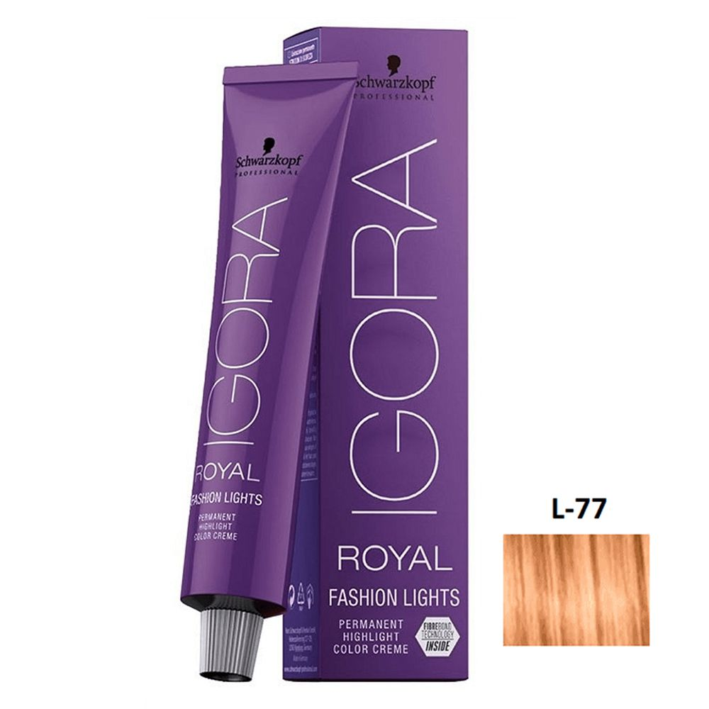 Schwarzkopf Igora Royal Fashion Lights L-77 Cobre - 60g