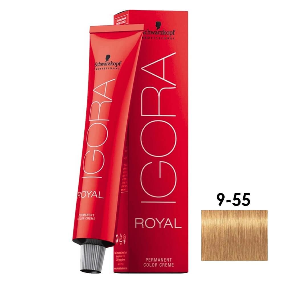 Schwarzkopf Igora Royal 9-55 Louro Extra Claro Dourado Extra - 60ml