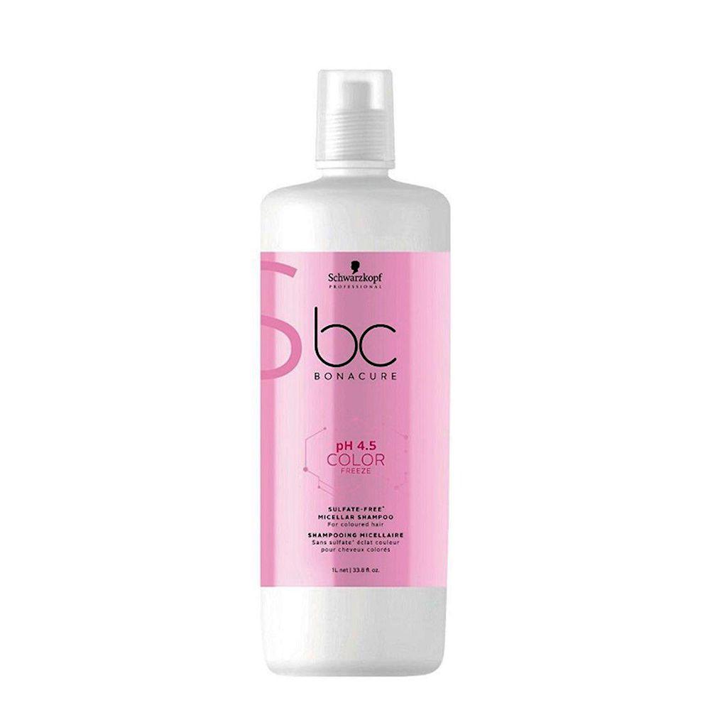 Schwarzkopf Professional Bonacure Shampoo New pH 4.5 Color Freeze - 1000ml