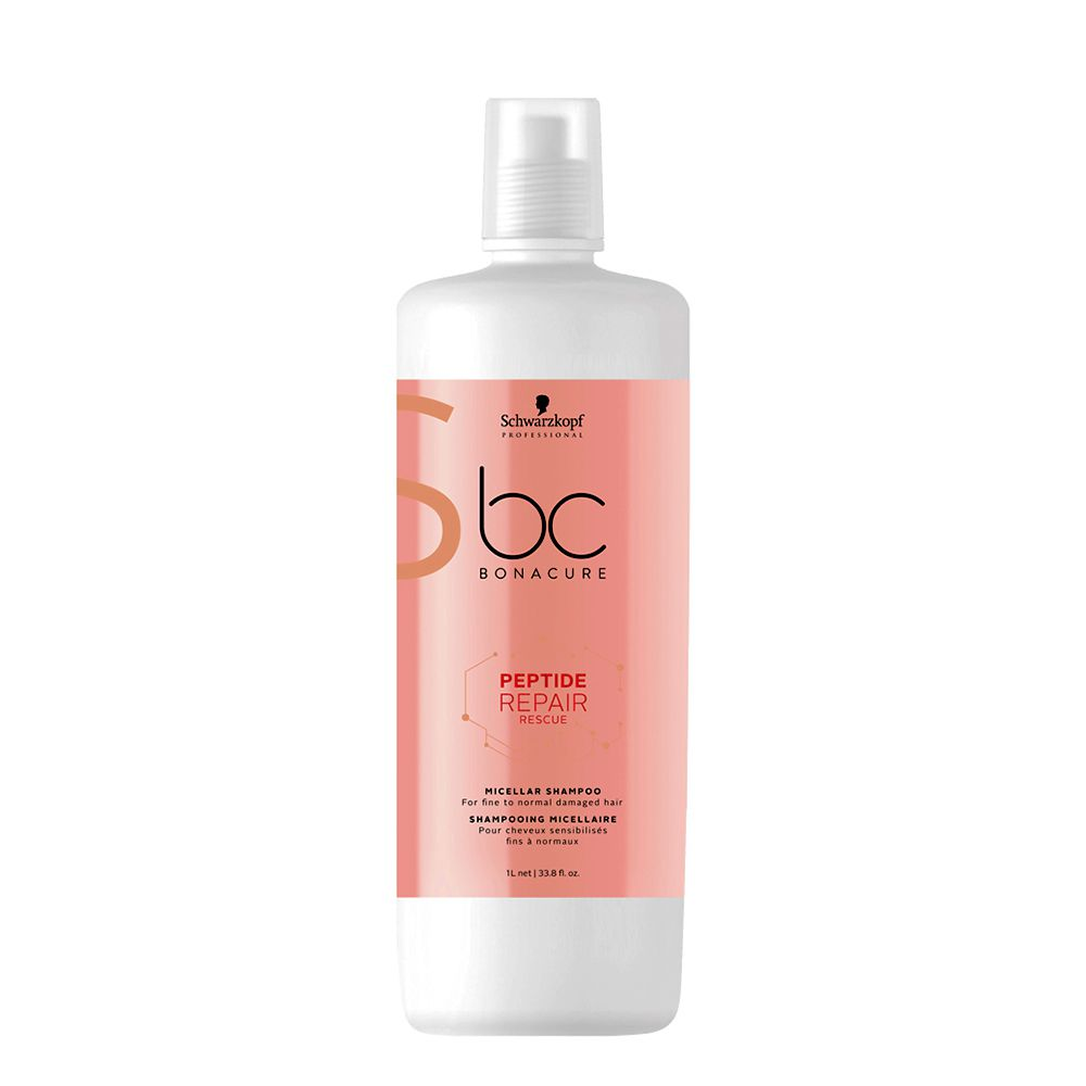 Schwarzkopf Professional Bonacure Shampoo New Repair Rescue - 1000ml