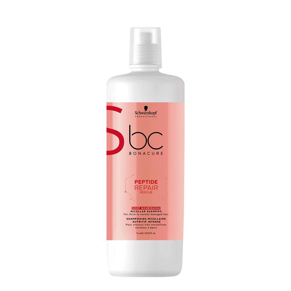 Schwarzkopf Professional Bonacure Shampoo New Repair Rescue  Deep Nourish - 1000ml