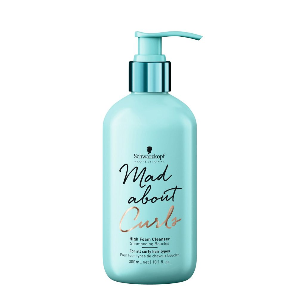 Schwarzkopf Professional Mad About Curls Shampoo Extra Espuma - 300 ml