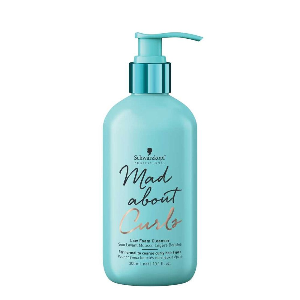 Schwarzkopf Professional Mad About Curls Shampoo Pouca Espuma - 300 ml