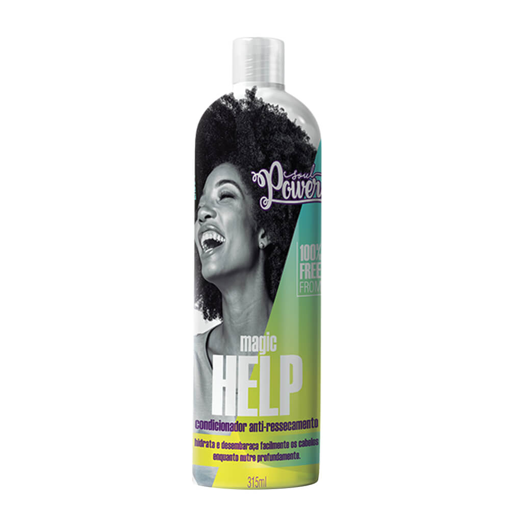 Soul Power Condicionador Antiressecamento Magic Help - 315ml