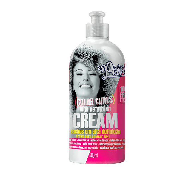 Soul Power Creme Para Pentear Color Curls High Definition Cream - 500ml