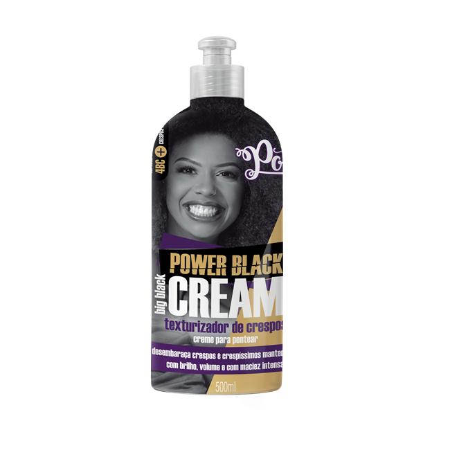 Soul Power Creme Para Pentear Power Black Cream - 500ml