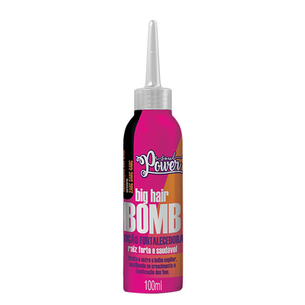 Soul Power Loção Fortalecedora Big Hair Bomb - 100ml