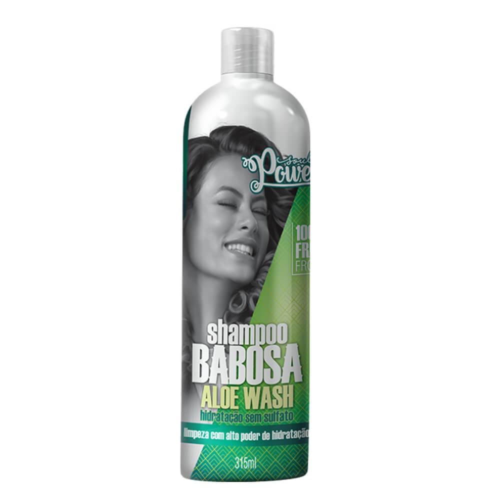 Soul Power Shampoo Aloe Wash Babosa - 315ml