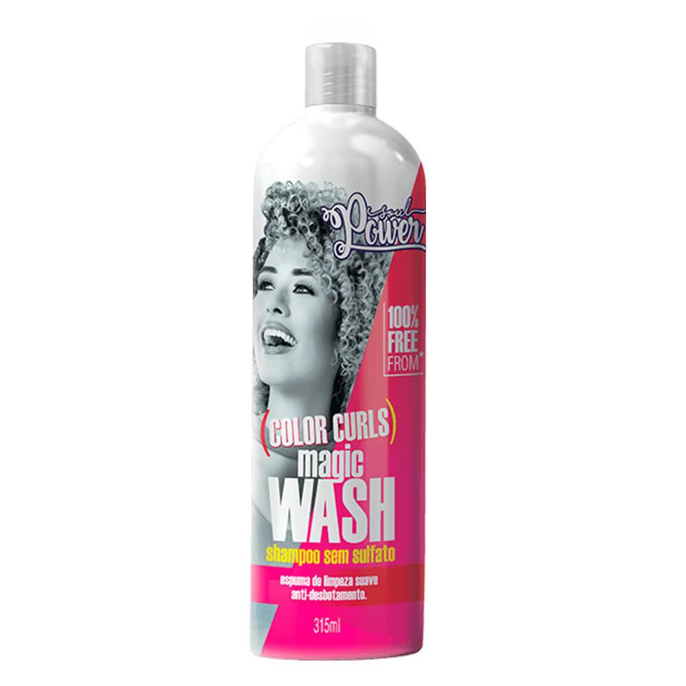 Soul Power Shampoo Color Curls Magic Wash - 315ml
