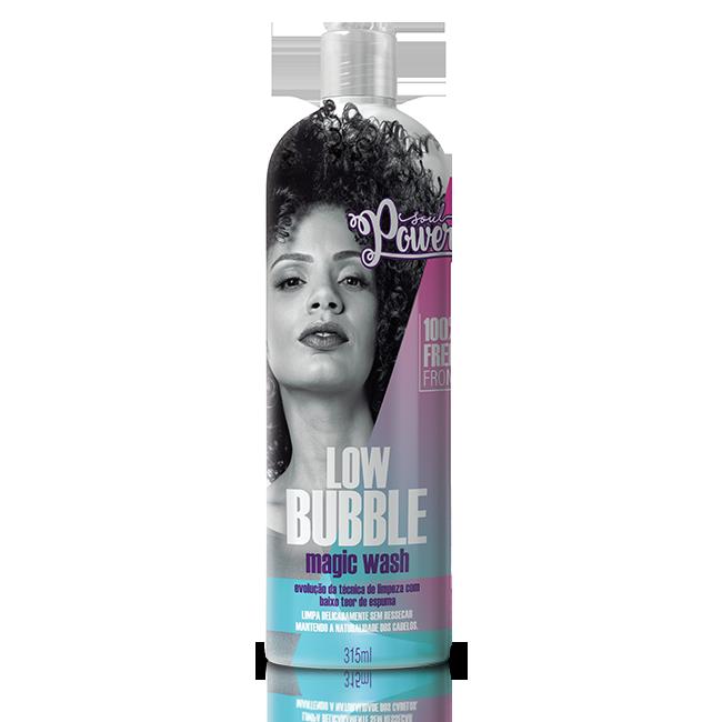 Soul Power Shampoo Low Bubble Magic Wash - 315ml
