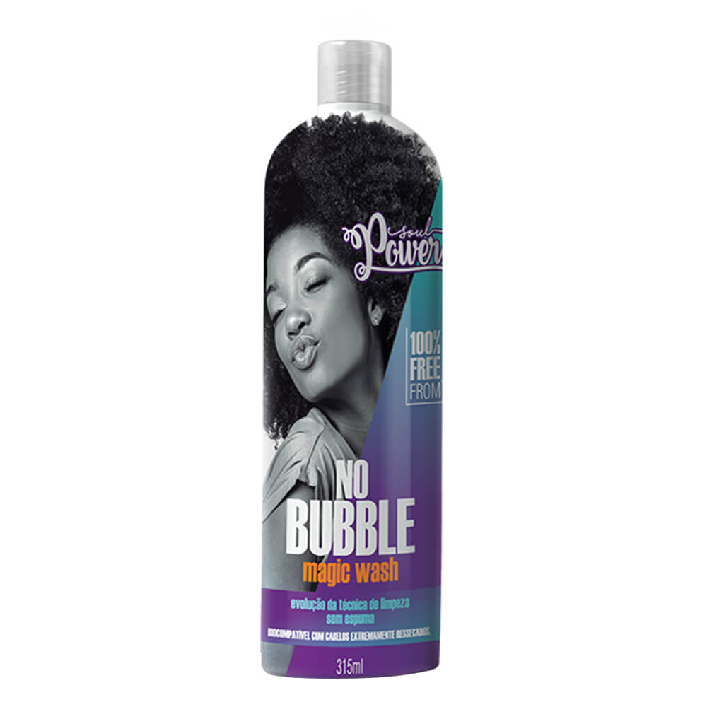 Soul Power Shampoo No Bubble Magic Wash - 315ml