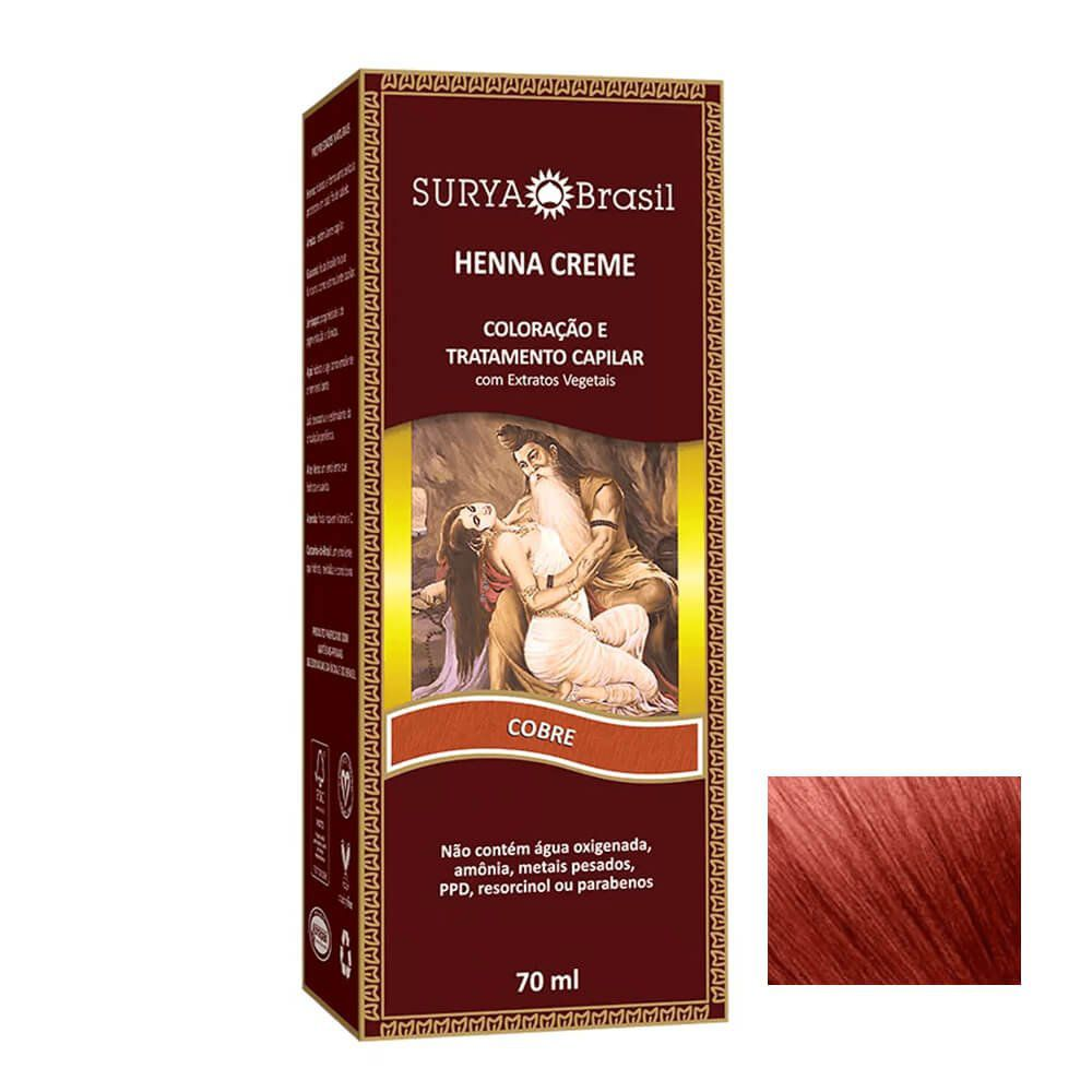 Surya Henna Creme Cobre - 70ml