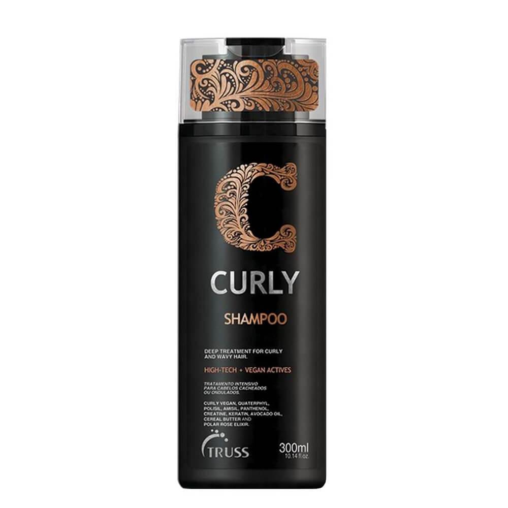 Truss Shampoo Curly Vegano Cabelos Cacheados - 300ml