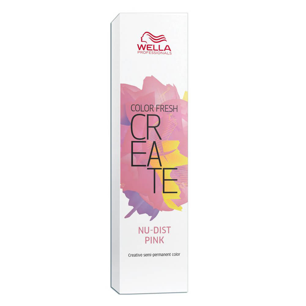 Wella Professionals Tonalizante Color Fresh Create Nu-Dust Pink - 60 ml