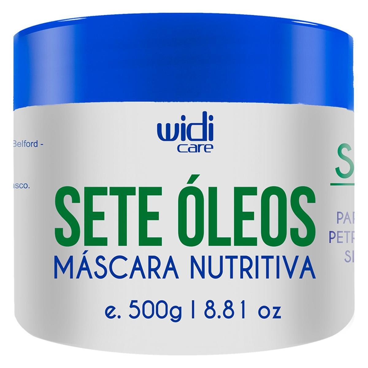 Widi Care Máscara Nutritiva Sete Óleos - 500g