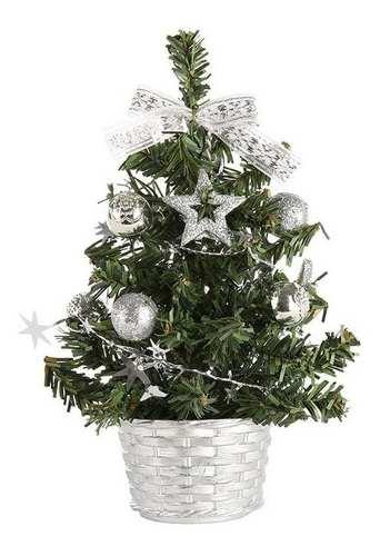 Mini Árvore Natal Decoração Mesa Escritório Trabalho