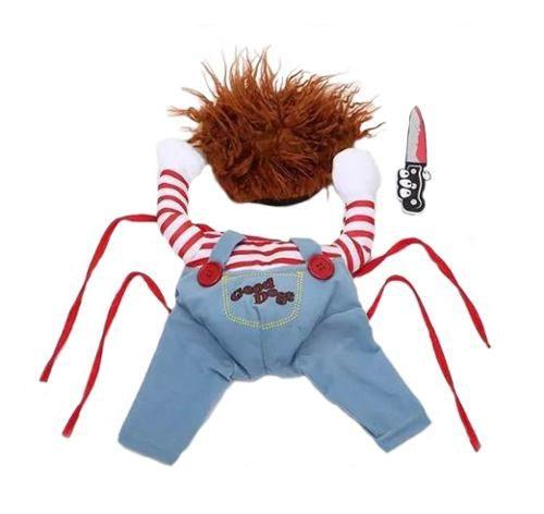 Fantasia Para Pet Chucky Brinquedo Assassino Dia Das Bruxas