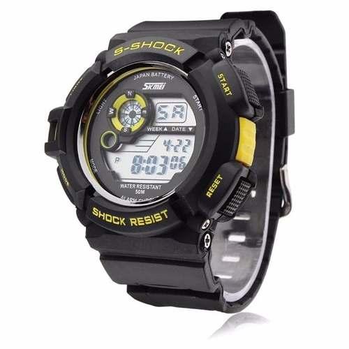 Relógio Masculino Militar Skmei S-shock Digital Prova D'água DG0939