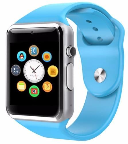 Relógio Smartwatch Celular A1 3g Chip Android Samsung Azul