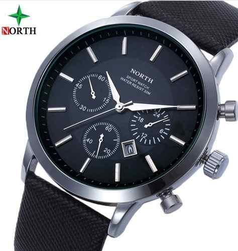 Relógio North Original Com Calendário Presente