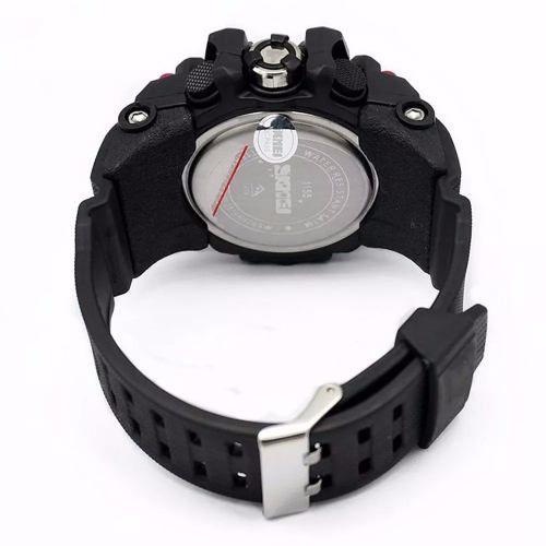 Relógio Masculino Ana/dig Prova D'água S-shock Skmei 1155