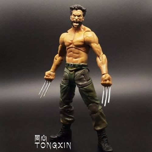 Wolverine Logan Marvel Boneco Articulado X-men Pronta Entreg