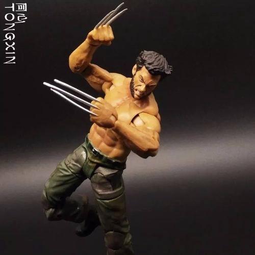 Wolverine Logan Marvel Boneco Articulado X-men Pronta Entrega