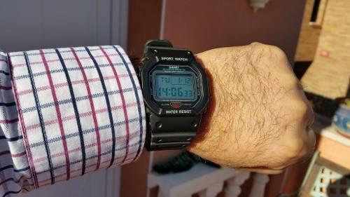 Relógio Masculino Feminino Casio Skmei Digital 1134