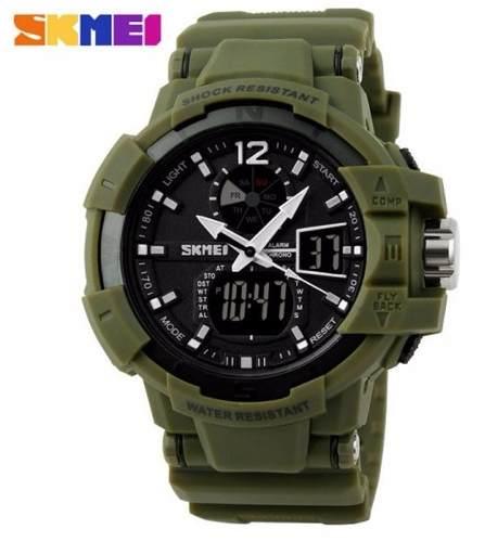 e6640c4eb2 Relógio Masculino Militar Skmei 1040 À Prova D água original - SUPER25