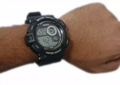 Relógio Militar Digital Skmei S-shock Prova D'água 1222