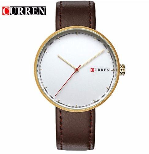 Relógio Masculino Curren Original 8223 Oriente Dourado