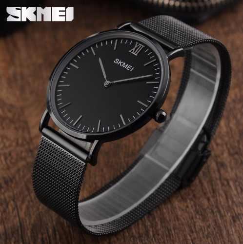 Relógio Skmei Analógico 11811 Preto Aço Inoxidável