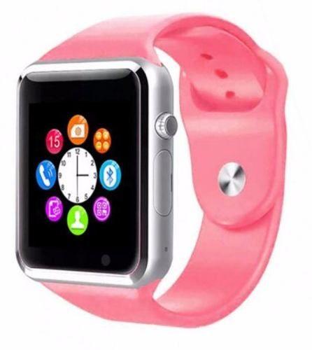 Relógio Smartwatch Celular A1 3g Chip Android Samsung Rosa